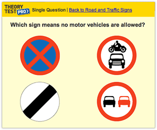 Driving theory lessons online